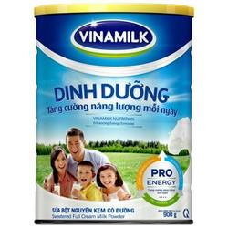 Sữa Bột Nguyên Kem Vinamilk Dinh Dưỡng: Hộp Thiếc 900gram