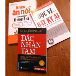 Combo 3 Cuốn Khéo Ăn Nói - Đắc Nhân Tâm - Đọc Vị Bất Kỳ Ai
