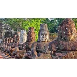 Du lịch Campuchia 4N3Đ  Siêm Riệp  Angkor Wat  Phnompenh