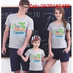 áo gia đình in theo yêu cầu ,áo nhóm áo lớp 85K 1 ÁO