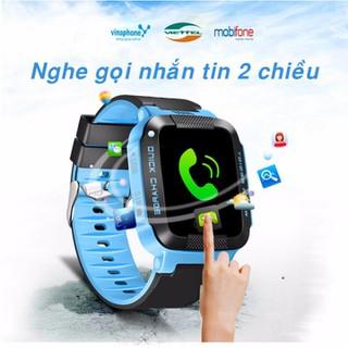 [NHẬP MÃ EL2691GIẢM THÊM 50K] Đồng hồ định vị Y21G, định vị vệ tinh GPS - Đồng hồ Y21G xanh thumbnail