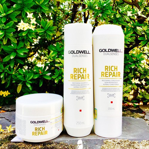 Trọn bộ GOLDWELL Rich Repair mini phục hồi tóc hư tổn - 5835310 , 9879376 , 15_9879376 , 1140000 , Tron-bo-GOLDWELL-Rich-Repair-mini-phuc-hoi-toc-hu-ton-15_9879376 , sendo.vn , Trọn bộ GOLDWELL Rich Repair mini phục hồi tóc hư tổn