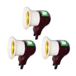 Bộ 3 Chuôi đèn có công tắc tắt mở 220V