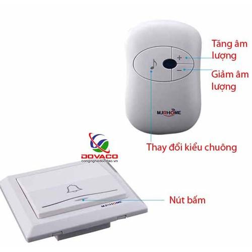 Chuông cửa không dây cao cấp MJ-home - 5845500 , 9890555 , 15_9890555 , 438000 , Chuong-cua-khong-day-cao-cap-MJ-home-15_9890555 , sendo.vn , Chuông cửa không dây cao cấp MJ-home