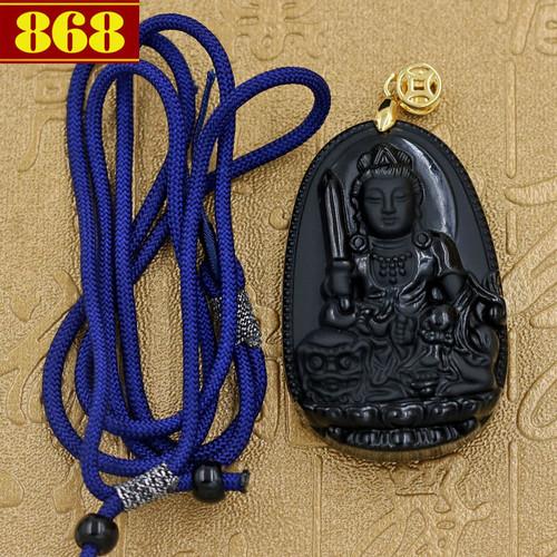 Mặt Phật dây dù Văn Thù Bồ Tát 5 cm
