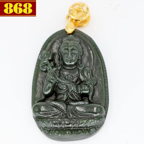 Mặt Phật Đại Thế Chí Bồ Tát đá cẩm thạch 3.8cm