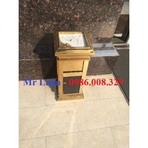 Thùng rác inox  vàng kim đá hoa cương cao cấp - 5833245 , 9877134 , 15_9877134 , 1200000 , Thung-rac-inox-vang-kim-da-hoa-cuong-cao-cap-15_9877134 , sendo.vn , Thùng rác inox  vàng kim đá hoa cương cao cấp