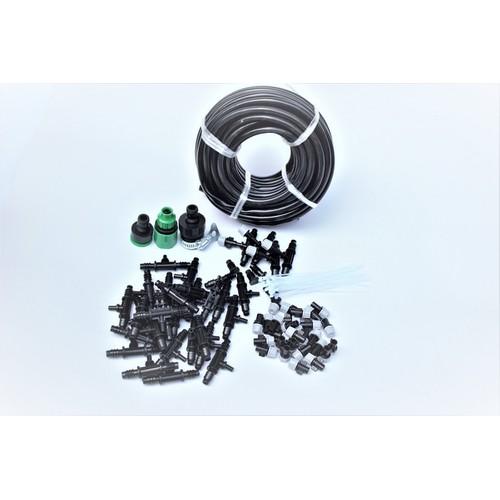 DIY Kit 32 Đầu phun sương 8lit đầy đủ dây, phụ kiện, TX-DIY-05