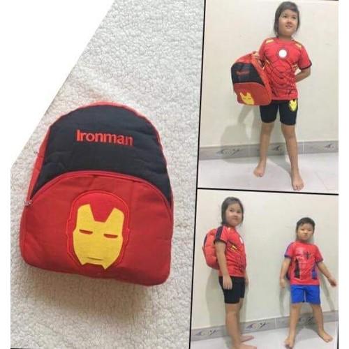 balo siêu anh hùng ironman
