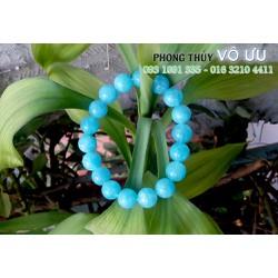 Vòng đá Aquamarine xanh ngọc 10ly