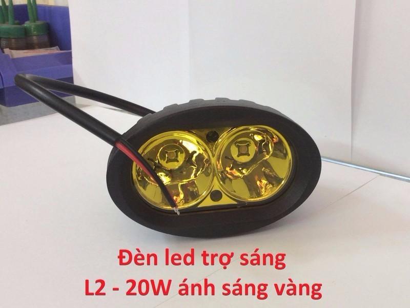 Chuyên Đèn Led Trợ Sáng Xe Máy C6.U5.U7.H14.Led Mắt Cú EX 150.V.v.. - 9