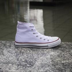 Giày CV classic trắng cổ cao