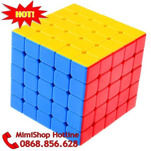 Rubik 5x5x5 - Rubik Đẹp,Trơn. Rubik YJ Guanlong Stickerless. Rubik 5x5