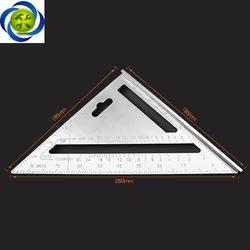 Thước tam giác nhôm MAYA 200mm