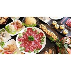 Buffet cao cấp trưa  tối Sushi và tinh hoa Lẩu Nhật tại Annz Japanese Dining