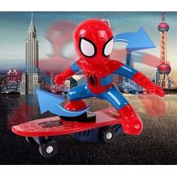 Người nhện trượt ván