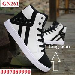 Giày Sneaker tăng chiều cao 6cm - GN261