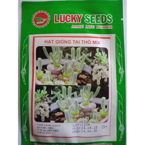 Hạt giống cây Tai Thỏ mix LUCKY SEEDS - 5859779 , 9901102 , 15_9901102 , 39000 , Hat-giong-cay-Tai-Tho-mix-LUCKY-SEEDS-15_9901102 , sendo.vn , Hạt giống cây Tai Thỏ mix LUCKY SEEDS