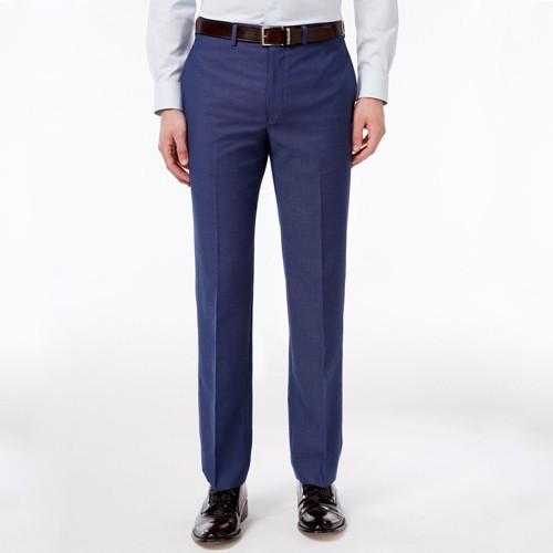 Quần tây Calvin Klein Extra Slim Fit Dress Pants -Blue.