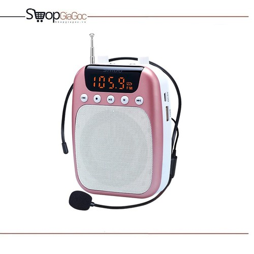 Máy trợ giảng có dây SHIDU SD-S358 FM