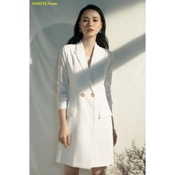 Đầm Kiểu Vest Tay Dài Sang Trọng
