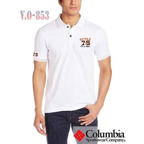 Áo thun nam cổ bẻ màu trắng vải cá sấu Thêu Logo VO-583 - 5863247 , 9905694 , 15_9905694 , 129000 , Ao-thun-nam-co-be-mau-trang-vai-ca-sau-Theu-Logo-VO-583-15_9905694 , sendo.vn , Áo thun nam cổ bẻ màu trắng vải cá sấu Thêu Logo VO-583