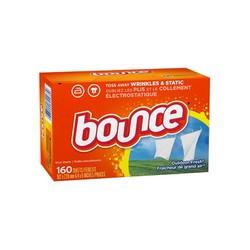 Giấy thơm dùng để sấy - ủ quần áo Bounce 160 tờ của Mỹ