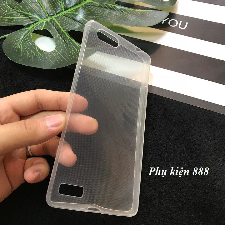 Ốp lưng Oppo A33T silicon dẻo trong suốt 2