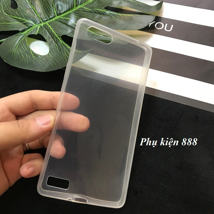 Ốp lưng Oppo A33T silicon dẻo trong suốt 3