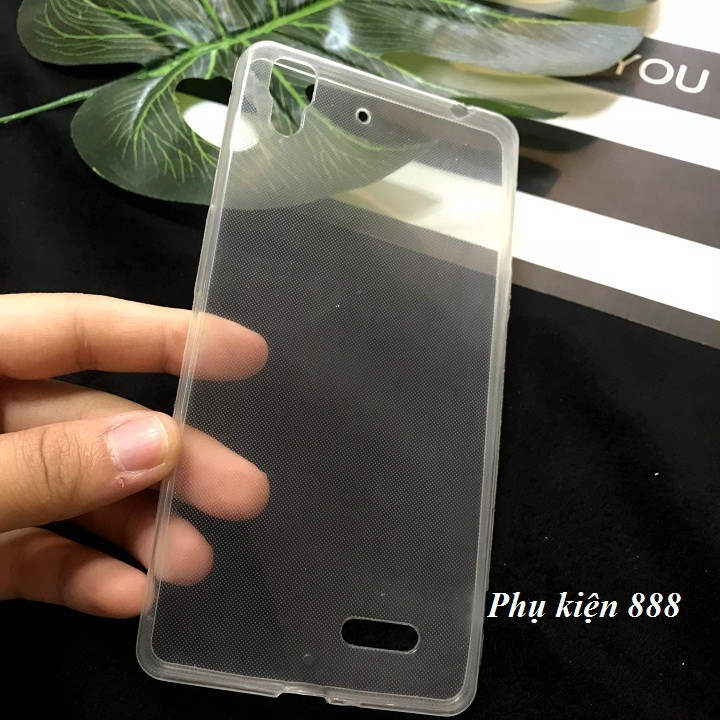 Ốp lưng Oppo R7 Lite silicon dẻo trong suốt 3