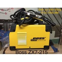 Thế hệ máy Hàn tiêu chuẩn BOSS ZX7-215 mẫu mã mới giá siêu hot
