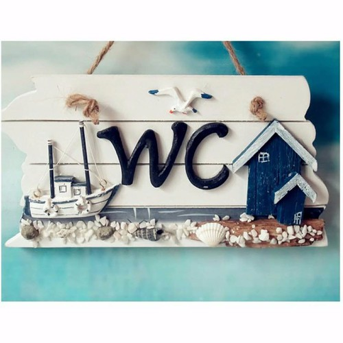 Bảng treo WC hình ngôi nhà ven biển - 5860470 , 9902354 , 15_9902354 , 90000 , Bang-treo-WC-hinh-ngoi-nha-ven-bien-15_9902354 , sendo.vn , Bảng treo WC hình ngôi nhà ven biển
