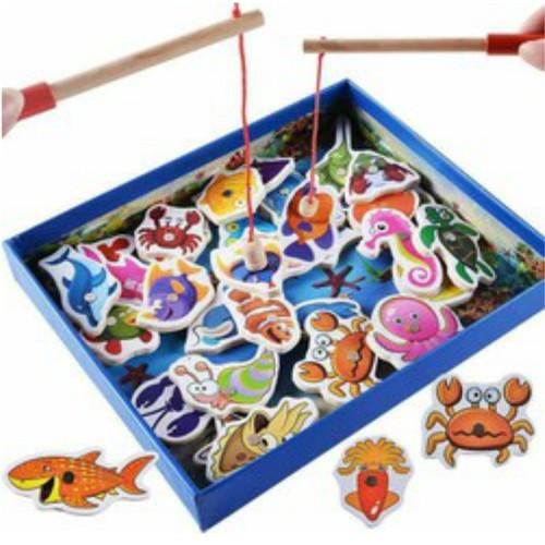 Bộ câu cá gỗ cho bé - 5861318 , 9903286 , 15_9903286 , 152500 , Bo-cau-ca-go-cho-be-15_9903286 , sendo.vn , Bộ câu cá gỗ cho bé