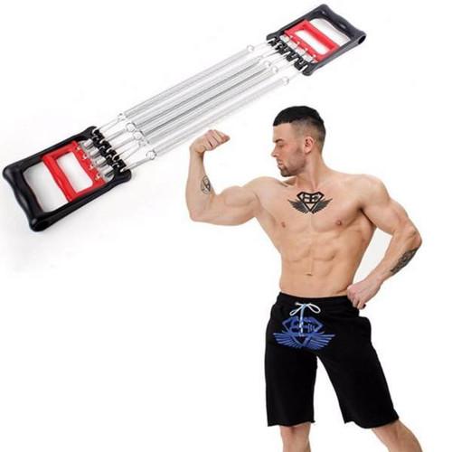 Dụng cụ thể thao dây kéo lò xo tập cơ tay đa năng