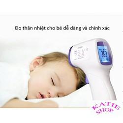 Thiết bị đo nhiệt độ - nhiệt kế điện tử hồng ngoại cho bé