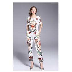 Hàng nhập - Sét áo + quần họa tiết