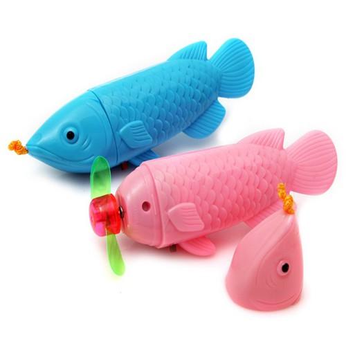 Combo 2 quạt cầm tay hình cá