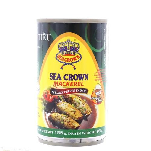 Combo 4 lon Cá nục kho tiêu Sea Crown 155g