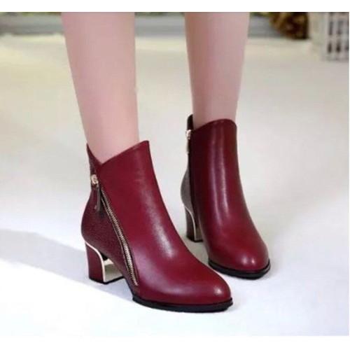 Giày boot nữ cổ thấp sang chảnh - 5868081 , 9912274 , 15_9912274 , 395000 , Giay-boot-nu-co-thap-sang-chanh-15_9912274 , sendo.vn , Giày boot nữ cổ thấp sang chảnh