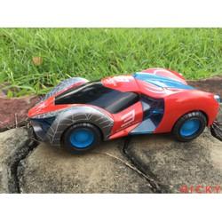 xe người nhện chạy pin tự động xoay, nhạc, đèn