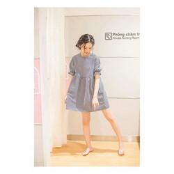 Đầm baby doll caro dễ thương đẹp