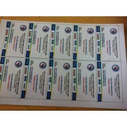 Phôi thẻ nhựa PVC 3 lớp dùng làm thẻ nhựa, thẻ nhân viên, thẻ VIP.