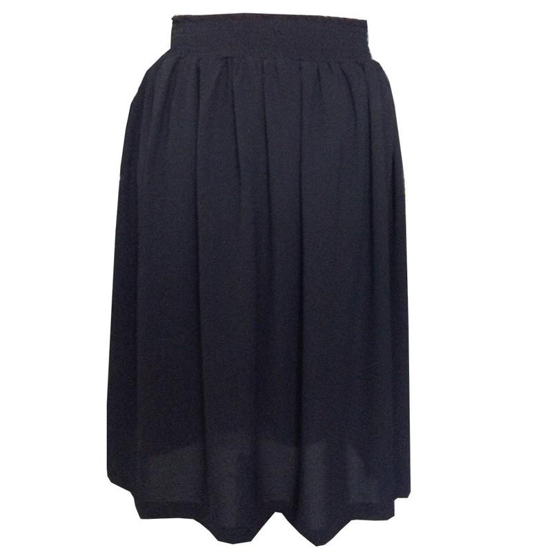 Chân váy maxi lưng thun xòe CV10003 3