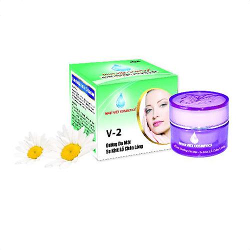 Nhật Việt Cosmetics – V2 Dưỡng Trắng Da Mặt,SE KLCL – Sữa Ong Chúa 10