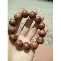 vòng tay gỗ tự nhiên vân vằn ngựa