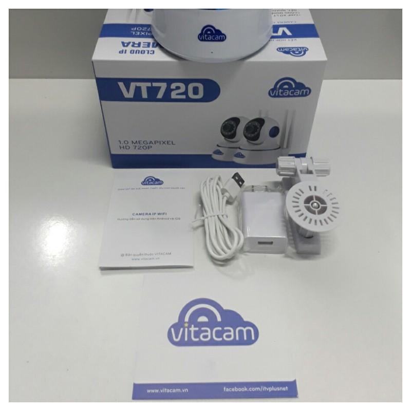 Vitacam VT720 Camera IP Wifi Vitacam 1.0Mpx HD 720P 4