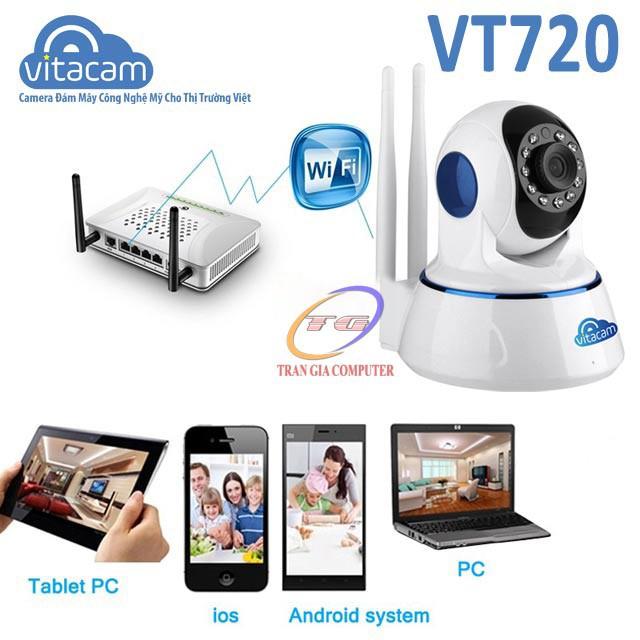 Vitacam VT720 Camera IP Wifi Vitacam 1.0Mpx HD 720P 5