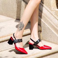 Giày sandal cao gót cực sang