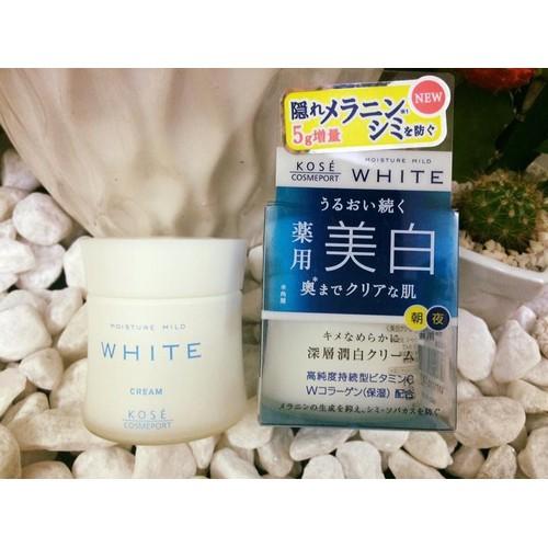 Kem dưỡng trắng da Kose Moisture Mild White