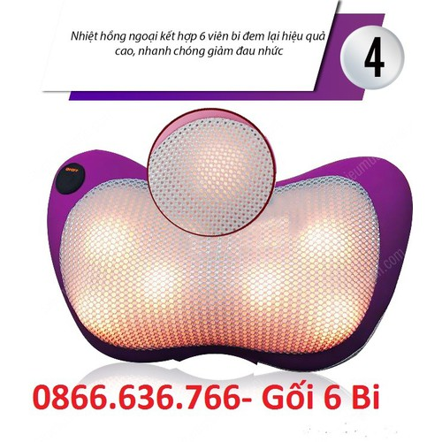 Gối massage 6 bi hồng ngoại KIMURA ONAGA - 5398574 , 11762574 , 15_11762574 , 510000 , Goi-massage-6-bi-hong-ngoai-KIMURA-ONAGA-15_11762574 , sendo.vn , Gối massage 6 bi hồng ngoại KIMURA ONAGA